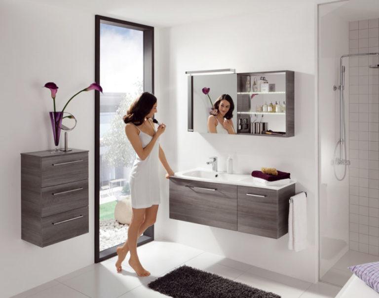 Мебель для ванной комнаты модная