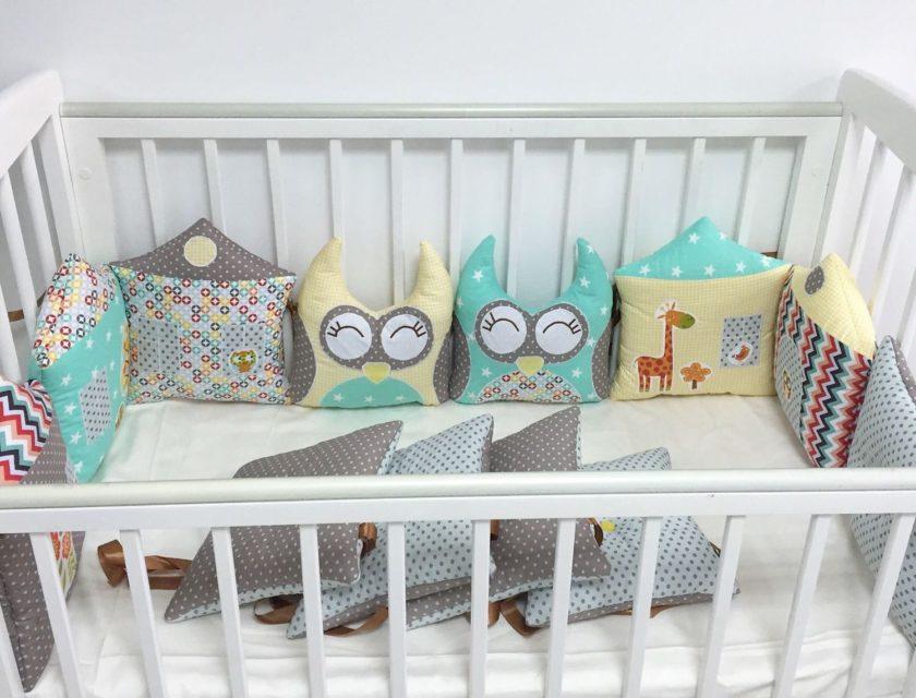Как красиво оформить детскую кроватку своими руками фото 42