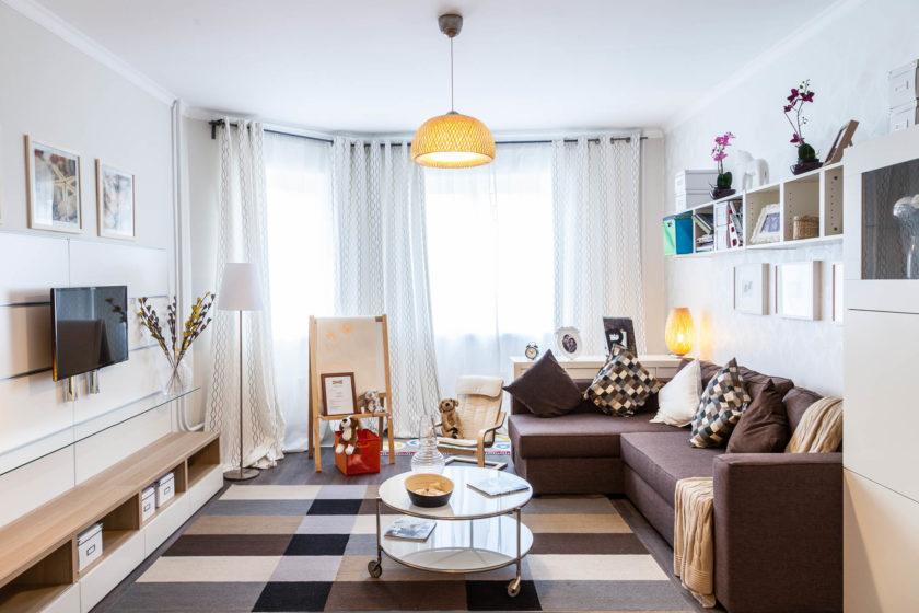 Дизайн интерьера с мебелью икеа