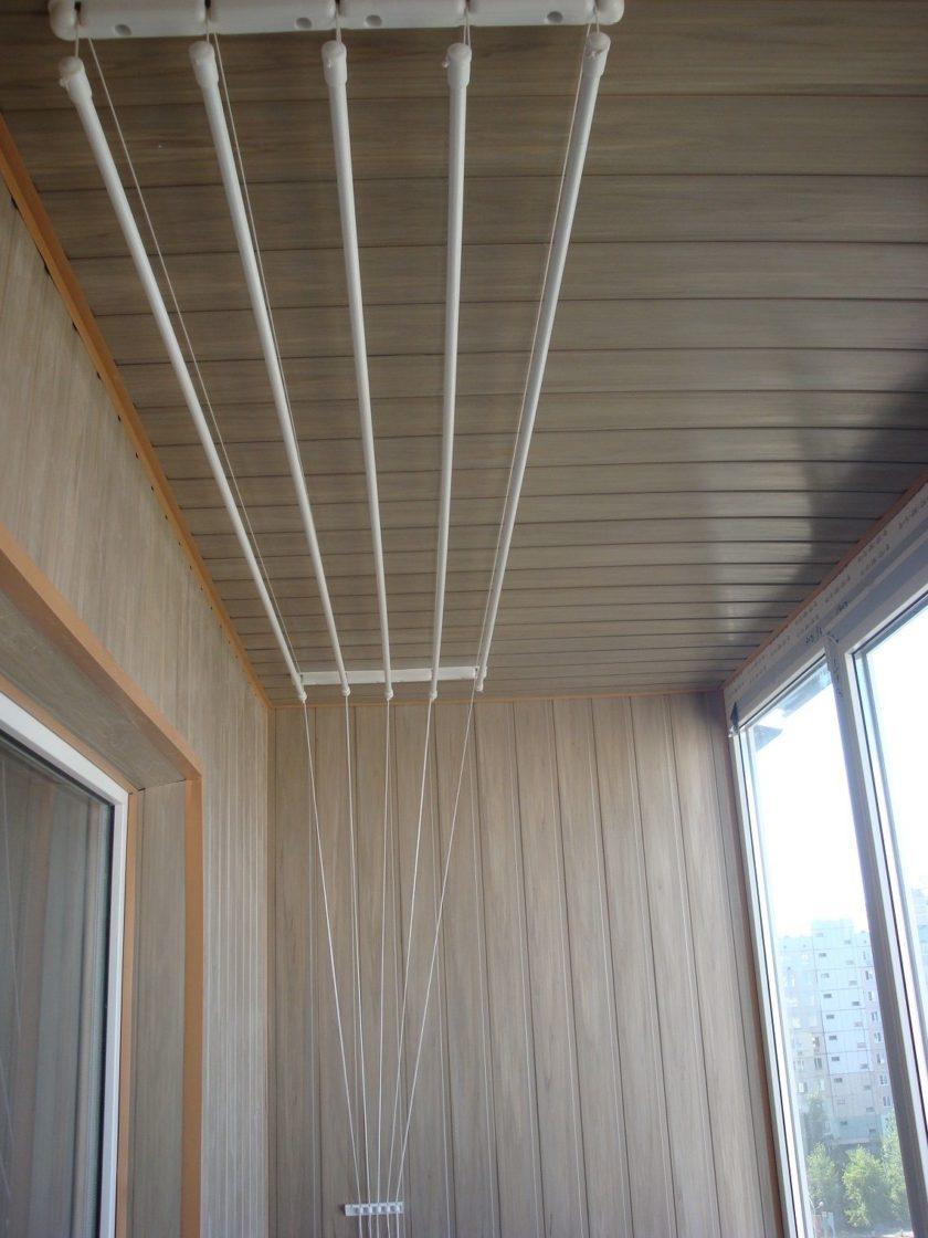 Сушилка белья на балконе - всё о балконе.