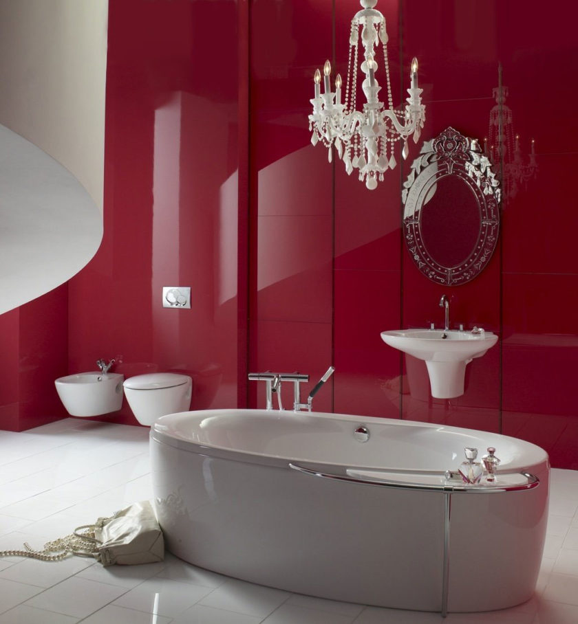 Ванная стильная
