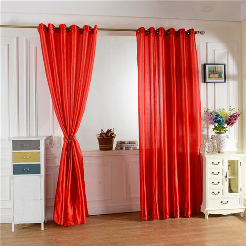 Grommet cafe curtains