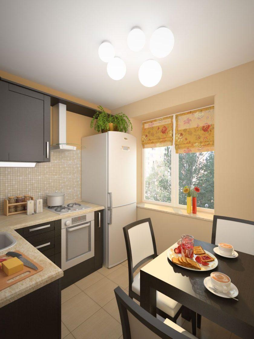 Дизайн кухни 6 квм в квартире