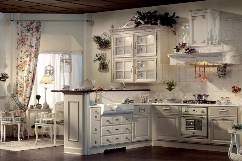 кухня прованс топ 100 фото как создать современный дизайн 2017