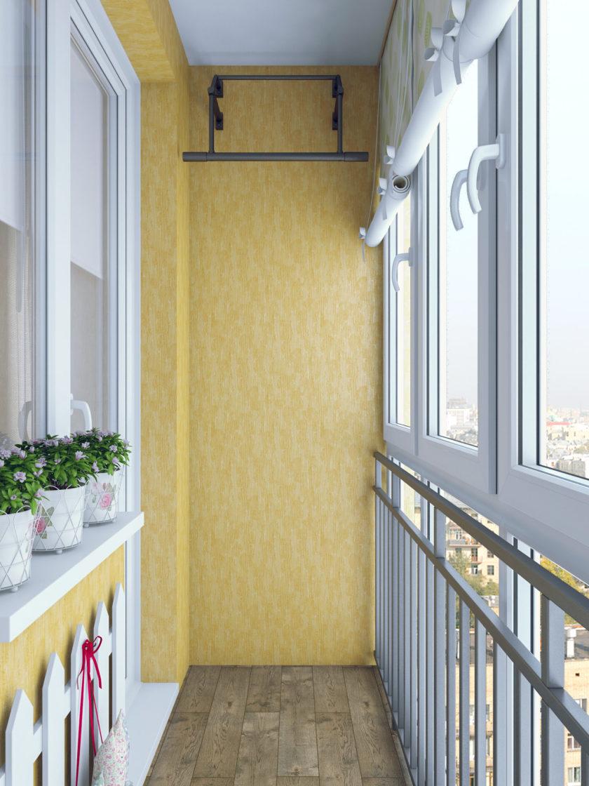 Лоджия 6 метров - 95 фото оригинальных дизайнерских решений.