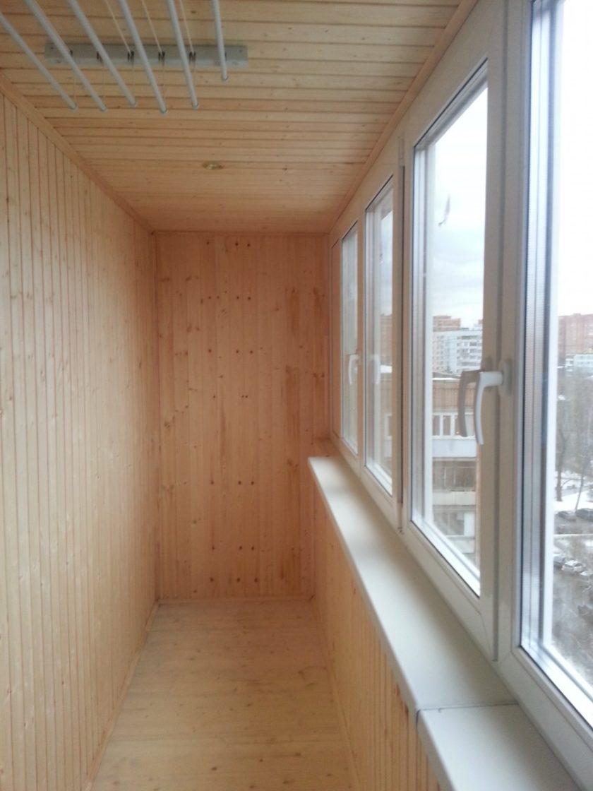 Отделка балкона вагонкой - 79 фото примеров качественного ди.