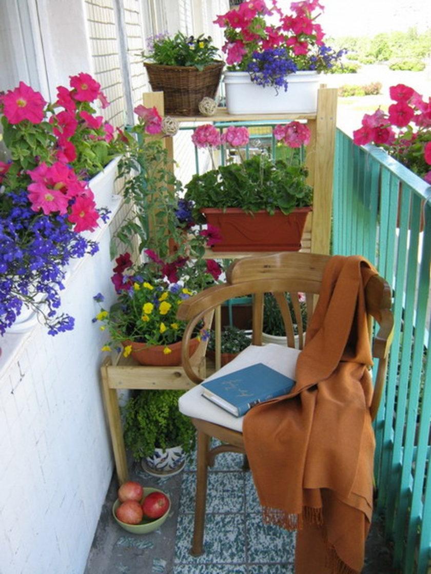 Цветы на балконе дизайн - всё о балконе.