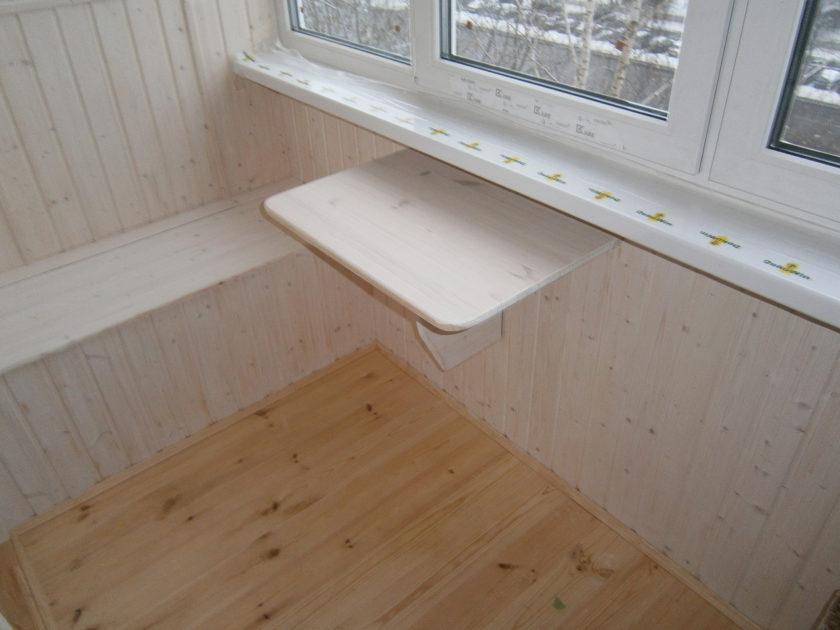 Откидной столик на балкон - 75 фото удобной мебели в интерье.
