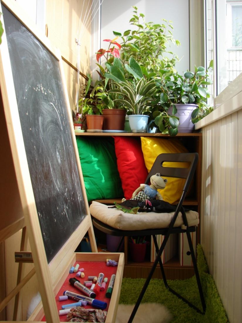Пятнадцать идей по обустройству балкона и лоджии rmnt.ru.