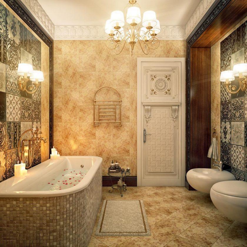 Ванная классика дизайн