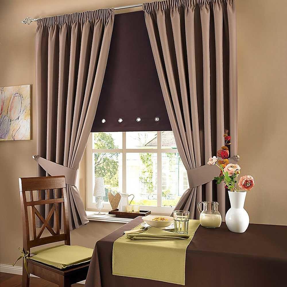 Рулонная штора для гостиной.