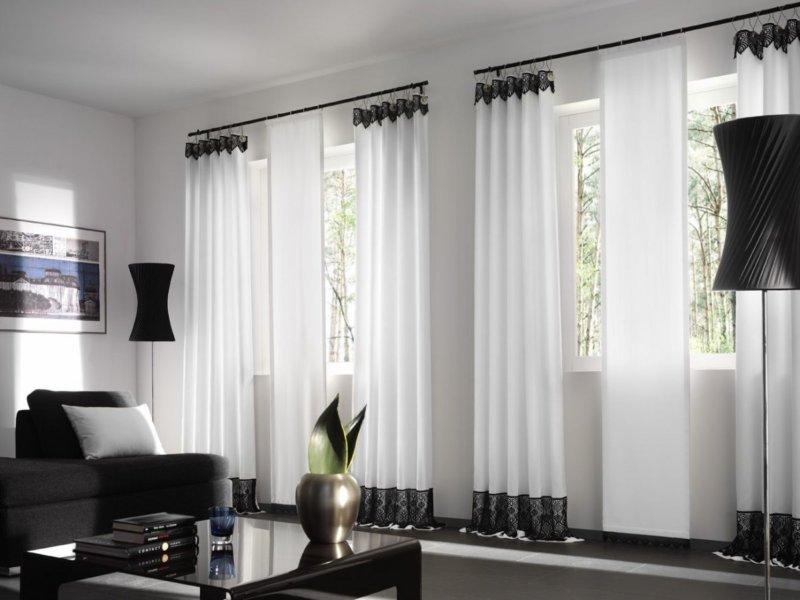 Красивые,стильные шторы для гостиной